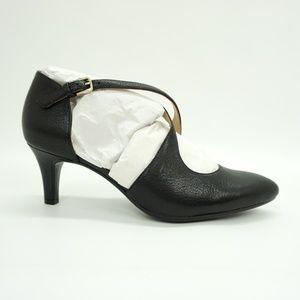 Naturalizer High Heel Strappy Pumps Black 7.5 Wide
